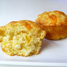 Bread Baking: Corn and Cheddar Muffins