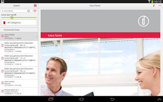 Screenshot of d.3 smart mobile