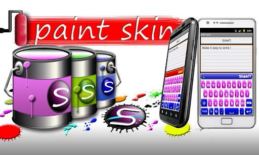 SlideIT Paint Style Skin
