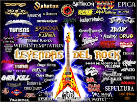Screenshot of Leyendas del Rock 2015