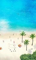 Screenshot of Beach Time LiveWallpaper Free