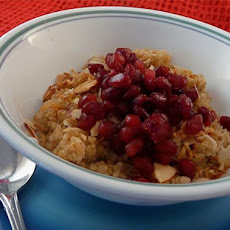 Pomegranate, Honey & Quinoa Breakfast