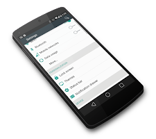 Screenshot of Android L - CM 11 Theme