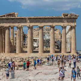 Parthenon by Vibeke Friis - Buildings & Architecture Public & Historical ( acropolis, athens, historical,  )