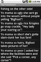 Screenshot of FREE Yo Mama Extreme Voice