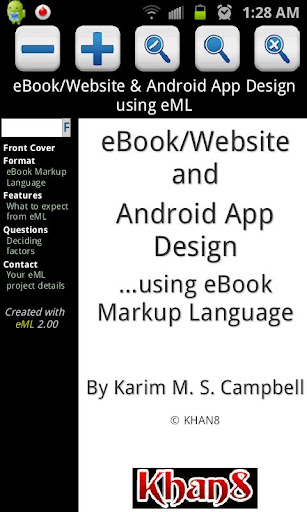eBook Application Design