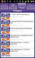Screenshot of dm Slovensko