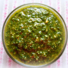 A Simple Basil Pesto
