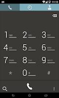 Screenshot of CM10.1 - Flatron Blue Theme