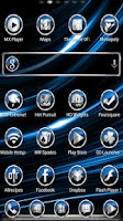 Screenshot of CrystalX HD Multi Theme Blue