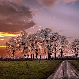 by Eseker RI - Landscapes Prairies, Meadows & Fields ( , path, nature, landscape )