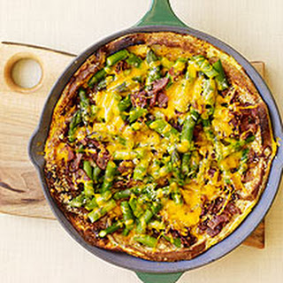 Asparagus, Bacon and Cheese Strata