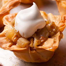 Gingered Pears in Phyllo Cups  Recipe