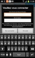 Screenshot of Retraite Sécu