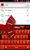 Screenshot of GOKeyboard BloodRed - Free