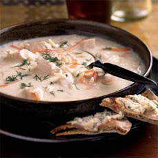 Quick Avgolemono, Orzo, and Chicken Soup