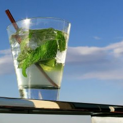Simple Mojito Cocktail