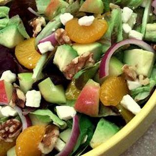 Walnut Tangerine Salad Recipes