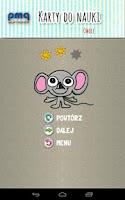 Screenshot of Karty dla dzieci, polski