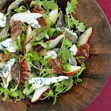 Roquefort, Pancetta & Pear Salad