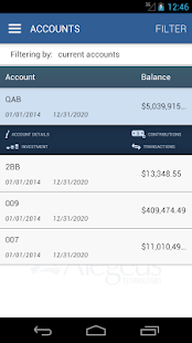 WealthCare Mobile - screenshot