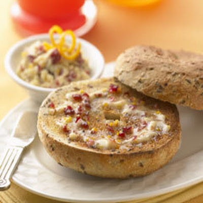 Orange, Cranberry & Honey Spread