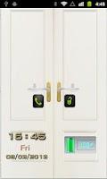 Screenshot of Lock Screen Door