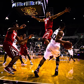 Flying Tide by Michael Campbell - Sports & Fitness Basketball ( bsaketball, college, action, sports )