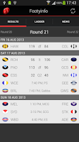 Screenshot of AFL - Footyinfo Live Scores