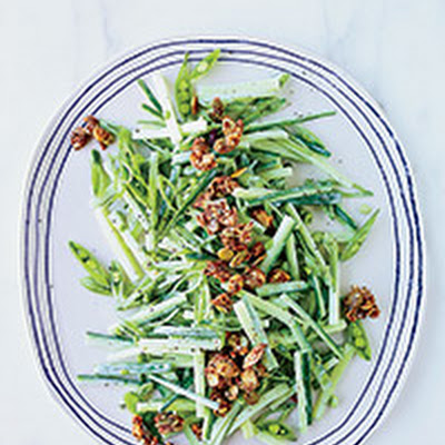 Cucumber-Sugar Snap Salad