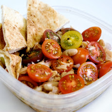 Tuna and White Bean Salad with Heirloom Tomatoes