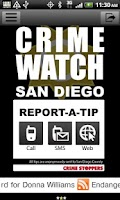 Screenshot of CRIME WATCH | SAN DIEGO