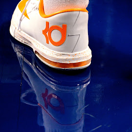Basketball shoe with reflection by Tyrell Heaton - Artistic Objects Clothing & Accessories ( basketball shoes,  )