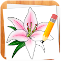 APK App How to Draw Flowers for BB, BlackBerry