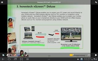 Screenshot of nScreen Doc
