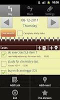 Screenshot of Yugenda - Tasks and notes