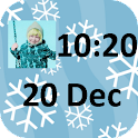 Photo Clock Widget icon