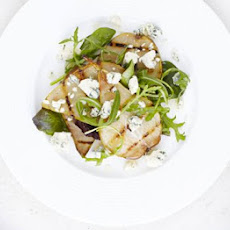 Griddled Pear & Blue Cheese Salad