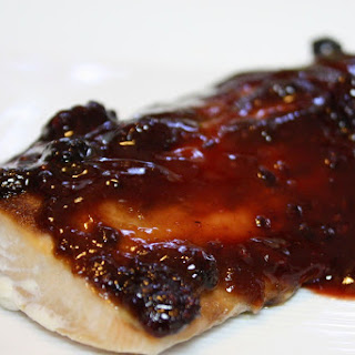 Blackberry Bbq Salmon