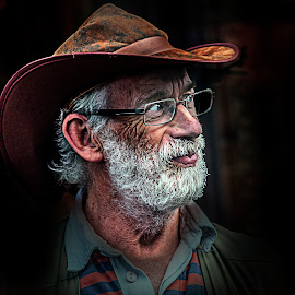 by Eddie Leach - People Portraits of Men