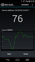 Screenshot of ALPHA Heart rate monitor (BLE)