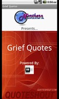 Screenshot of Bible Quotes for Grief