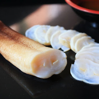 Geoduck, Sashimi and Sautéed
