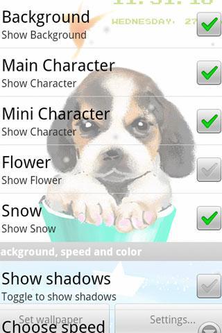터치 애완 동물 라이브 배경 화면 4