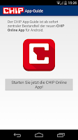 Screenshot of CHIP App-Guide