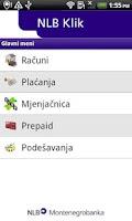 Screenshot of NLB Klik