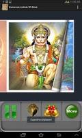 Screenshot of Hanuman Ashtak:3D Book
