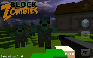 Screenshot of Block Warfare: Zombies