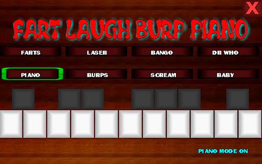 fart laugh burp piano