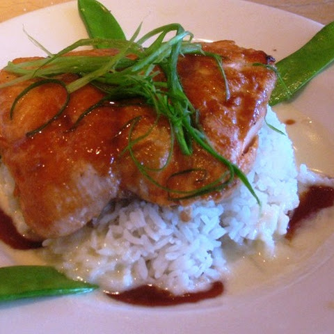 The Cheesecake Factory's Miso Salmon